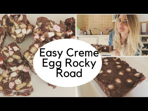 Creme Egg Rocky Road | easy recipe!
