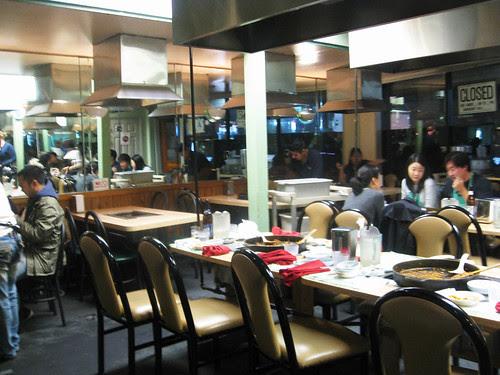 Spicy Chicken Dinner at Ma Po Dak Gal Bi