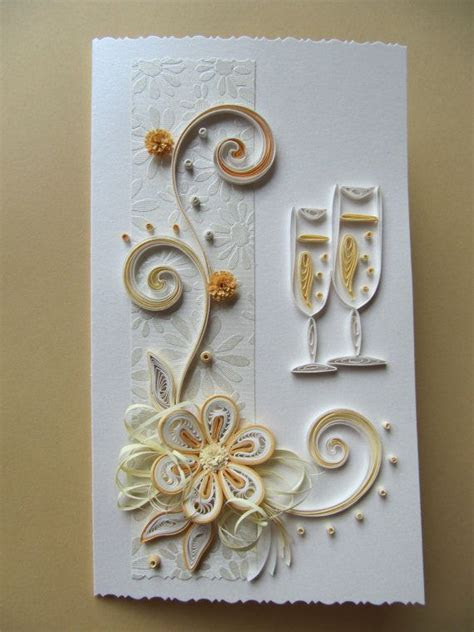 Wedding Card, Gold Anniversary Greeting Card,Happy