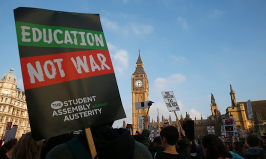 Students are right to march against the markets. Why can't education be free? | David Graeber