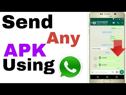 How To Send Apk File and Games via WhatsApp 2017
