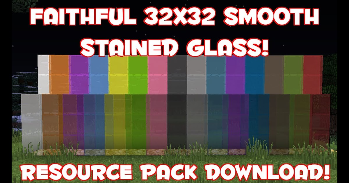 Minecraft Stained Glass Texture Pack Stained Glass Ideas