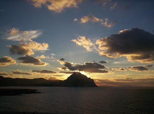 Tramonto su Monte Cofano by via_parata