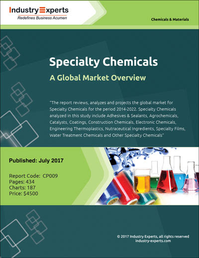 Specialty Chemicals – A Global Market Overview