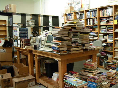 Used Book Buying area - Third Place Books