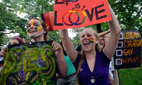 Gay activists