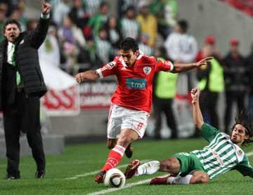 Sálvio (SLB) e Tiago Pinto (R.Ave): Lusa