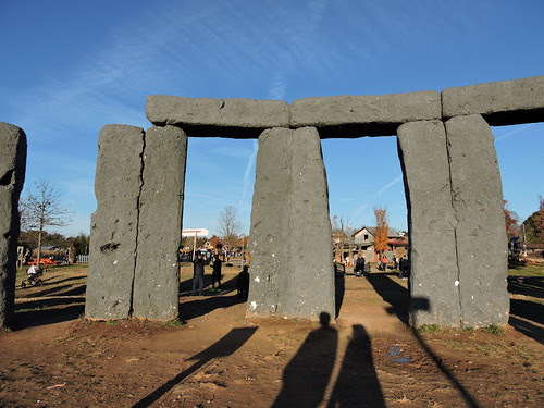 Poem for Tuesday and Foamhenge (Where the Demons Dwell)