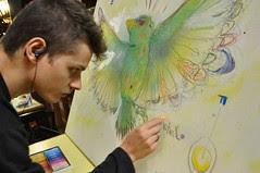 Pintura ao vivo - 2011.