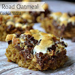 Rocky Road Oatmeal Cookie Bars