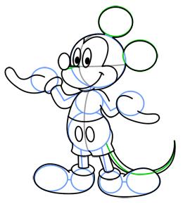 Nasıl çizilir Miki Fare çizelim Barış Tunçer