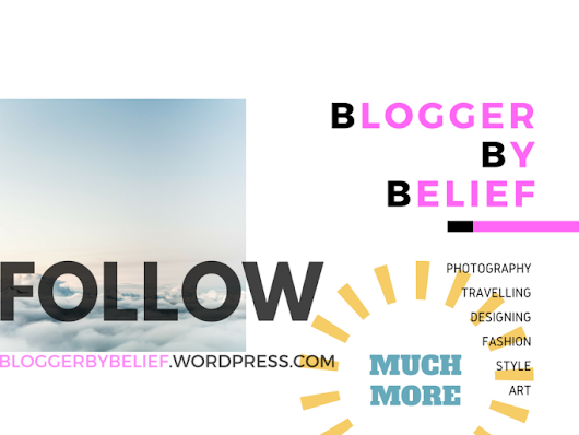 Blogger By Belief