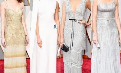 Oscars 2017 Style Trends Metallic, Little Black Dress & Sustainable Fashions
