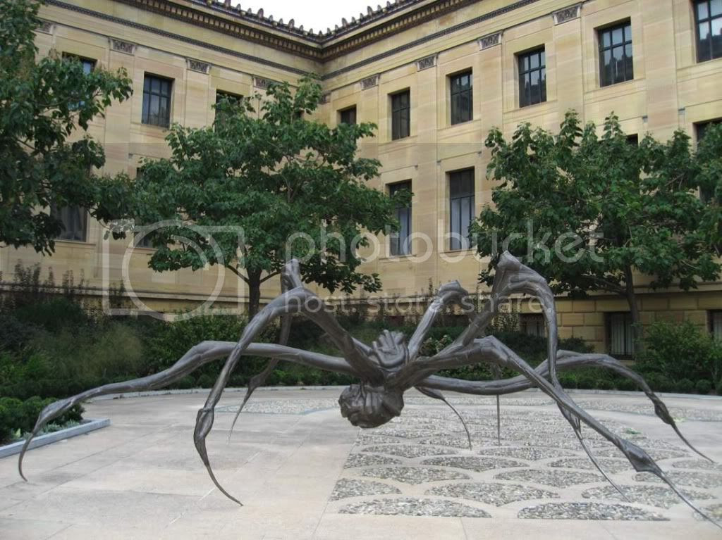 Photo by Substance McGravitas of a Louise Bourgeois sculpture