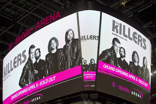T-Mobile Arena Scoreboard - The LED Studio Blog