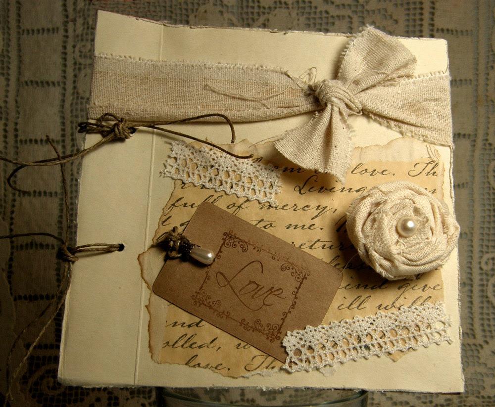 Valentines Day Shabby Chic Rustic Love Journal Notebook - CountryUrbanGirl