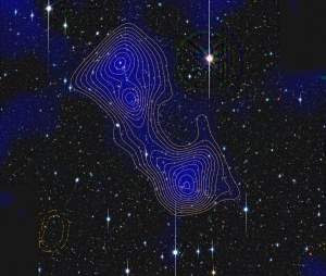 Teia cósmica do Universo tem fios de matéria escura