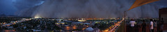 Phoenix Arizona Dust Storm Haboob Panorama 7/5...