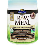 Garden of Life RAW Meal Organic Shake & Meal Replacement Chocolate Cacao 17.4 oz.