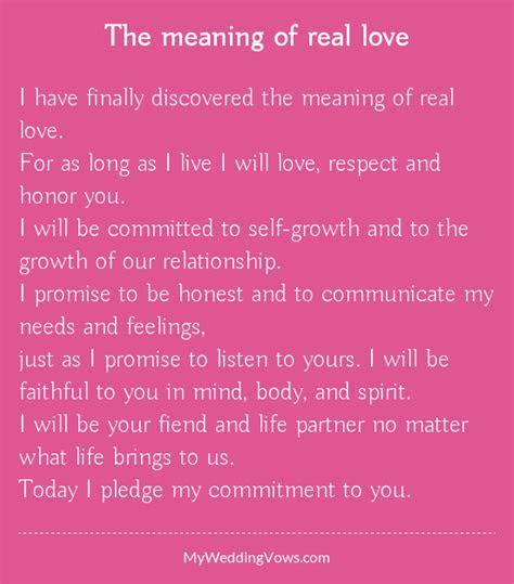 The meaning of real love   Respect, Feelings and Relationships