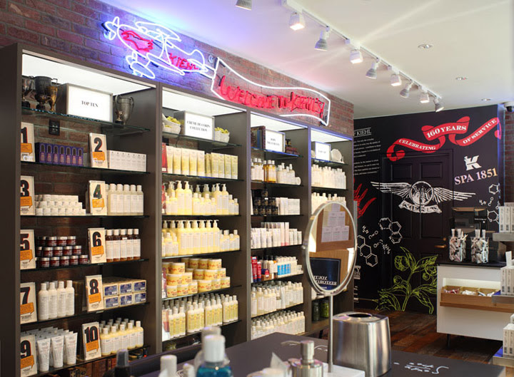 Kiehls Retail Store and Spa 1851 New York 05 Kiehls Retail Store and Spa 1851, New York