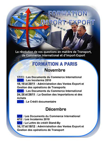 Formation Import-Export