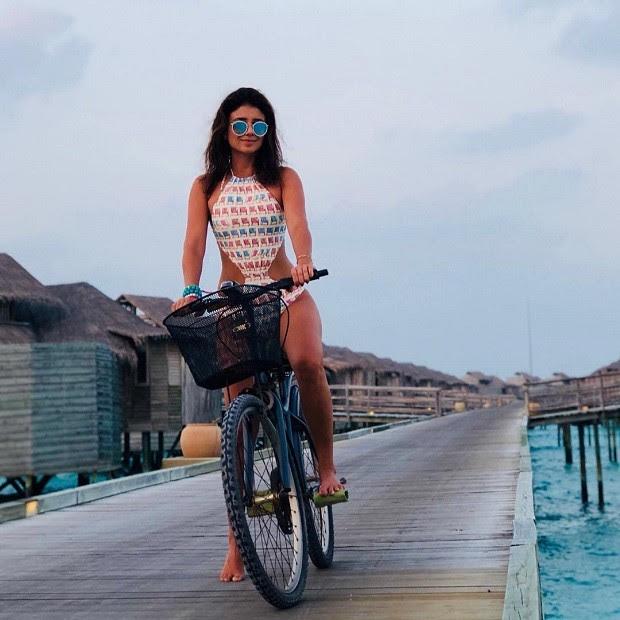 Paula Fernandes nas Maldivas (Foto: Reprodução/Instagram)