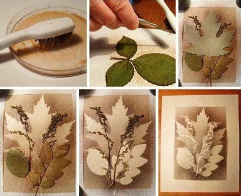 splatter art  layered leaves  images arts