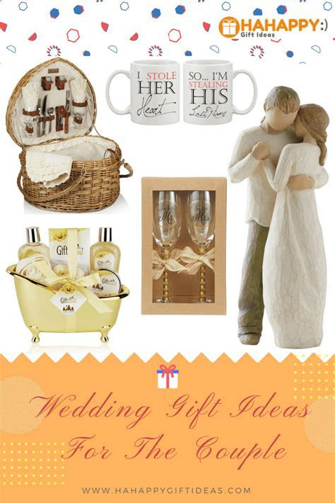 13 Special & Unique Wedding Gifts for Couples   HaHappy