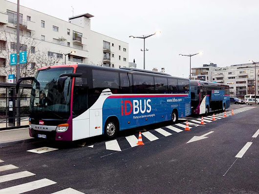 Bus and coach travel in France