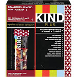 Kind Plus Fruit & Nut Bars, Cranberry Almond + Antioxidants - 16.8 oz box, 1.4 oz bars