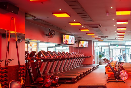 Orangetheory Fitness Gym Ventilation AC Electric Plumbing London