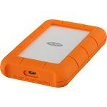 LaCie - Rugged USB-C 4TB External USB 3.1 Gen 1 Portable Hard Drive - Orange