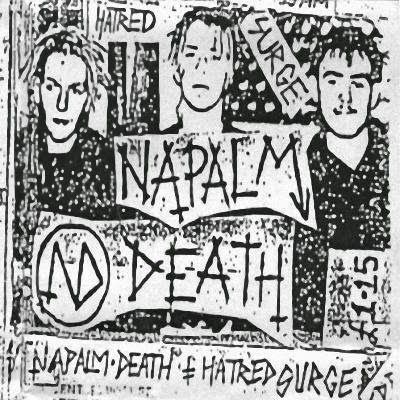 Napalm Death - Hatred Surge Demo Album Cover