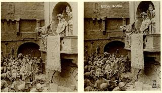 Stereofotografia Domenica Mastroianniego - Ecce Homo