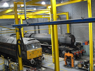 Flying Scotsman in The Works