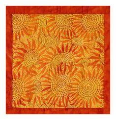 Sunburst Quilt - Polly Diantha Stone