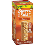 Nature Valley Sweet & Salty Peanut Bar (1.2 Ounce bars, 48 Count)