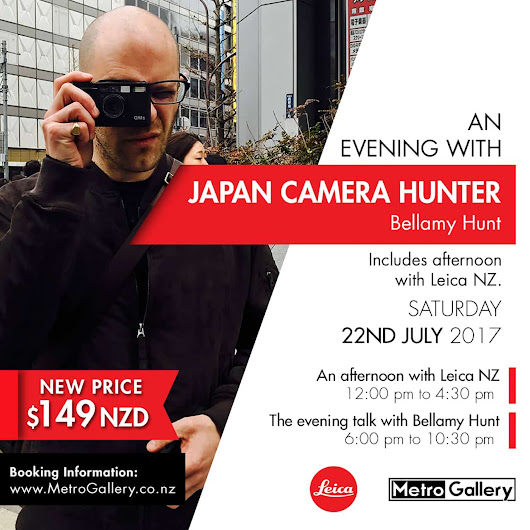 JCH is coming to NZ! - Japan Camera Hunter