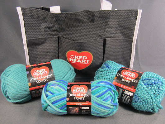 Red Heart Mixology Yarn and Tote Bundle