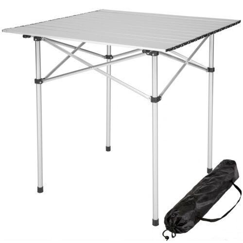 Table Pliante Camping Aluminium Bois