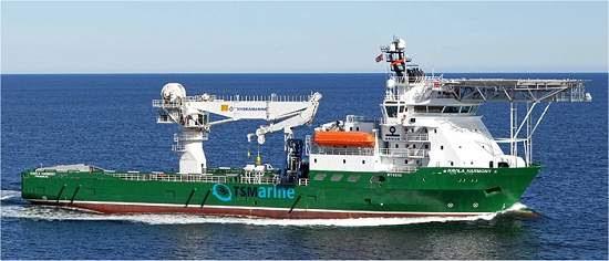 Os primeiros navios mineradores já estão prontos para começar a trabalhar.[Imagem: TSMarine Australia]