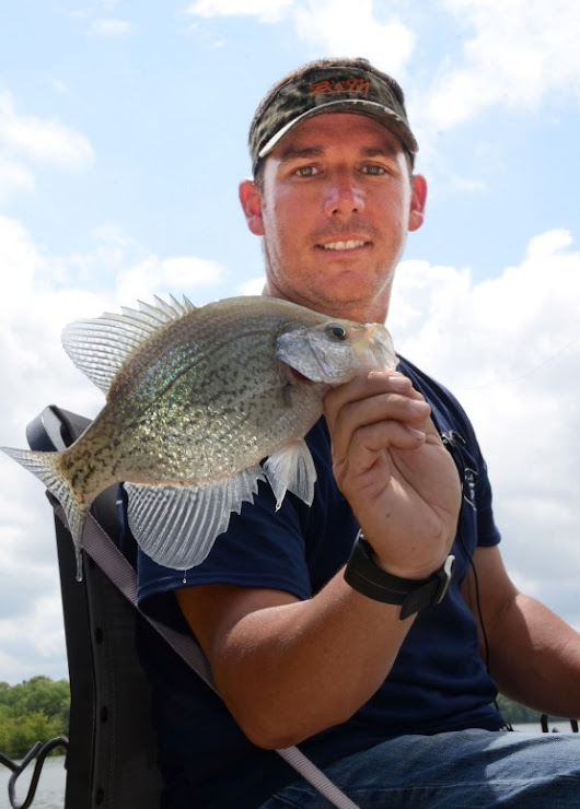 CRAPPIE NOW! – FREE Digital Magazine   –  The Differences in Crappie Fishing Rivers and Lakes with Scott Williams