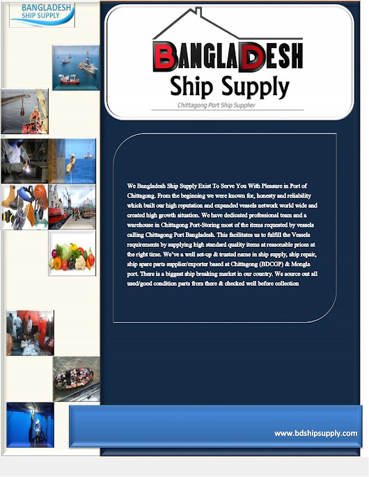 Company Profile | Bangladesh Ship Supply