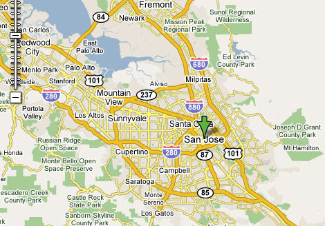 San Jose Weather Map | World Map Interactive