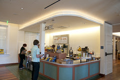 Cafe, Walt Disney Family Museum, San Francisco
