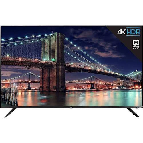 "TCL 55R617 - 55"" Roku Smart TV - 4K UHD - Black"