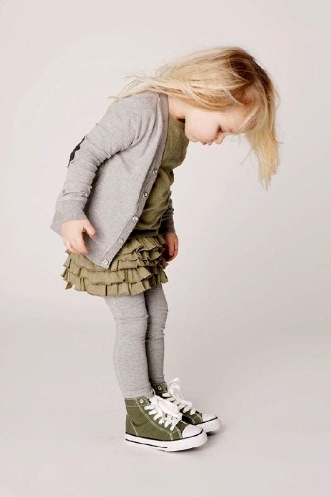 #girl's #grey and #olive cute dress idea for fall layering  Kids Fashion http://closefashion.com/kids-baby-fashion/