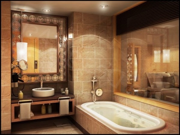 Blazzing House Exquisite And Beautiful Bathroom Design