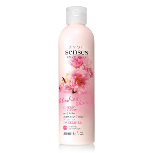 Avon Senses Cherry Blossoms Body Lotion - Deanna's Beauty Blog
